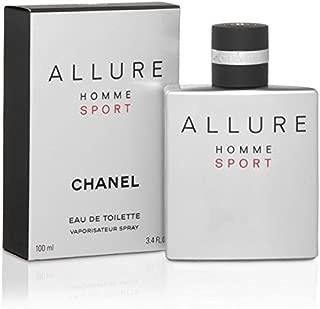 CHàNèl Allure Homme Sport Men Eau de Toilette Spray 3.4 OZ./ 100 ml.