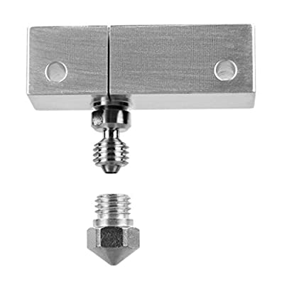 micro swiss M2560-04 All Metal Hot end with SLOTTED block for Wenham i3, 0.4 mm