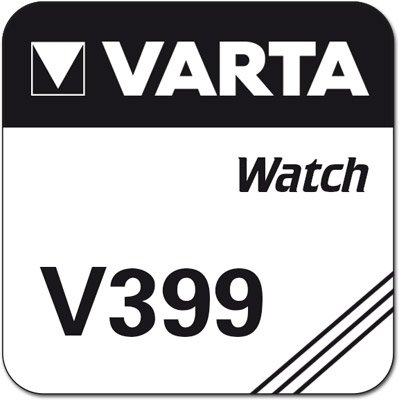 Varta kompatible Knopfzelle V399 SR927W D399 Batterie für Uhren Uhrenbatterie