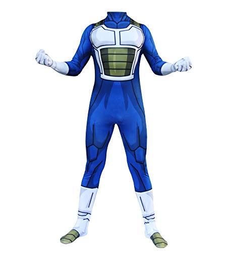 HIHIvia Dragon Ball Z Son Goku Super Saiyan Vegeta Cosplay Disfraz Mono Disfraces Familiares Traje de Carnaval Halloween Navidad para Niños Adultos