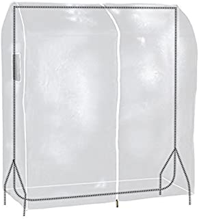 comprar comparacion Hangerworld - Funda protectora perchero Burro Portátil 120cm, Transparente