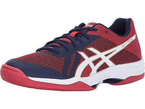 ASICS Women's Gel-Tactic 2 Volleyball Shoe, Indigo Blue/White/Prime Red, 7.5 Medium US