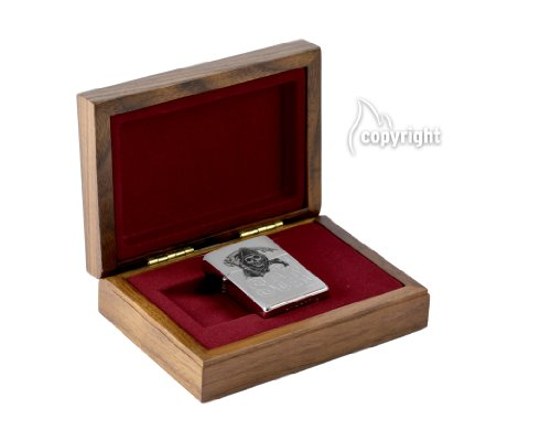 Zippo Sons of Anarchy limited Luxus Geschenkset / Holzbox