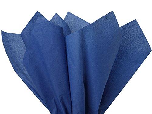 Dark Blue Tissue Paper 15 Inch X 20 Inch - 100 Sheet Pack Premium Tissue Paper HIGH UALITY Tissue Paper Made in USA