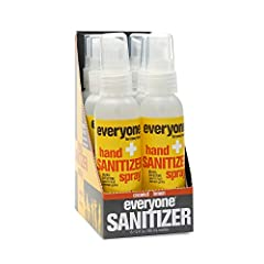 Contains 6 - 2 Fl Oz bottles 62% ethanol, exceeding the CDC recommendation for hand sanitizing Made with alcohol derived from non-GMO sugar cane that's 99.9% effective against germs and aloe + vegetable glycerin for clean, soft hands No parabens, no ...
