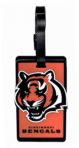 Aminco NFL Cincinnati Bengals Soft Bag Tag