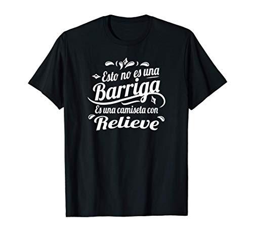Esto no es una barriga es una camiseta con relieve Camiseta