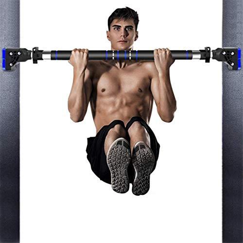 HAKENO Klimmzugstange für Türöffnung Keine Schrauben Oberkörper-Trainingsstange Multifunktionales Verstellbare Türreck für Klimmzüge Türstock
