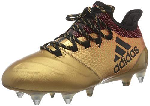 adidas X 17.1 SG, Zapatillas de Fútbol Hombre, Gris (Onix/Cblack/Solred Onix/Cblack/Solred), 40 EU
