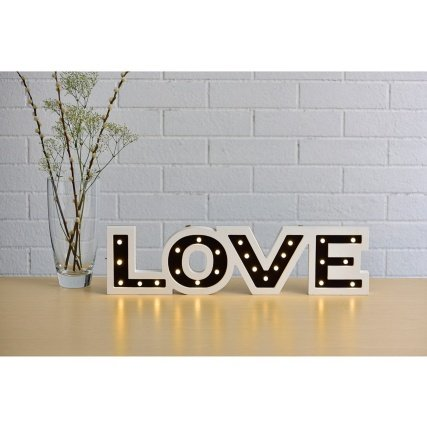 Graceful Love LED Word Light Christmas Decoration by OnlineDiscountStore