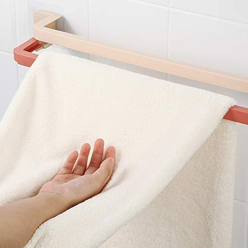 ZWWZ Toallero,toalleros baño de Pared,Toallero retráctil,Se Puede Usar en la Cocina,el baño,el balcón,también se Puede Usar como un Estante para Zapatos para Guardar Zapatillas.De múltiples Fines