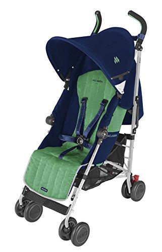 Maclaren Quest Sport - Silla de paseo, color azul y verde