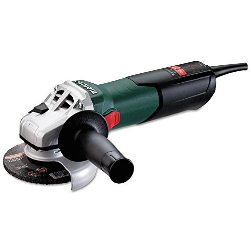 Metabo W9-115 8.5 Amp 10,500 rpm Angle Grinder with Lock-On Sliding Switch, 4-1/2'