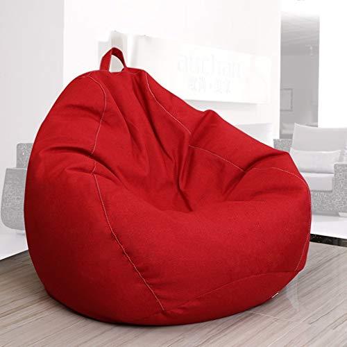 YLCJ Sofa, strandtas, creatief, enkele sofa, slaapkamer, woonkamer, kleine woning, ligstoel (kleur: grijs, grootte: 80 x 90 cm)