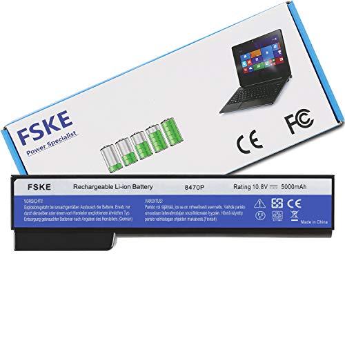 FSKE® QK642AA CC06XL Akku für HP CC06 BB09 EliteBook 8470P 8460P 8570P 8470W 8560P ProBook 6470B Notebook Battery, 10.8V 5000mAh 6-Zellen