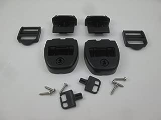 2X Spa Hot Tub Cover Latch Strap Repair Kit & Key Hot Spring Caldera Video How To