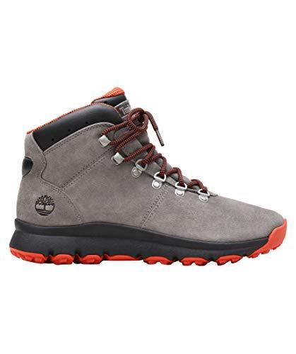 Timberland World Hiker Mid, Chaussures d'escalade Homme, Gris (Grey A1z11), 43 EU