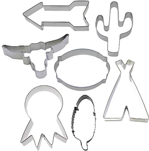 7 Piece Southwestern Boho Native Tribal Cookie Cutter Set