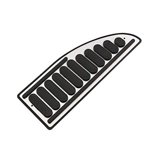 YHRGD Carmilla Coche Acelerador Pedales de Frenos Cubre Pedales de Embrague reposapiés Pedales Cubierta/Fit for Ford Focus 2 3 4 MK2 MK3 MK4 2005-2017 (Color Name : 1 Pc Rest Pedal)