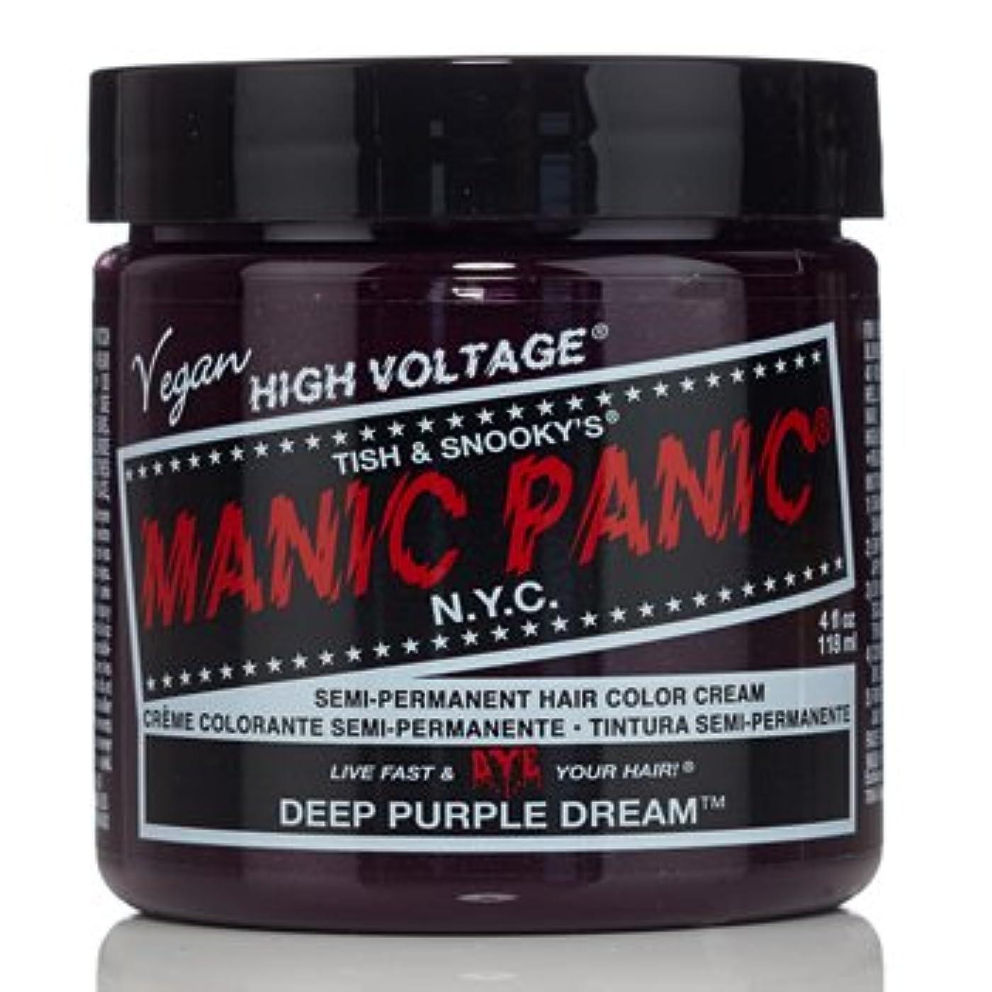 足音思いやりのある約【3個セット】MANIC PANIC マニックパニック ディープパープルドリーム MC11048 118ml