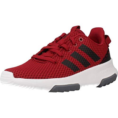 adidas, CF Racer TR K, wandelschoenen voor meisjes, rood, maat 39.3, rouge Bordeaux Noir Gris, 32 EU