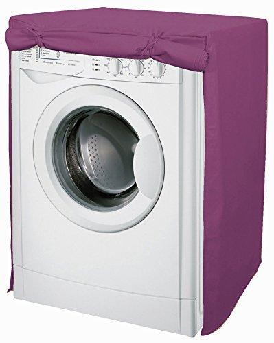 Funda para la lavadora en algodón, en color violeta.: Amazon.es: Hogar