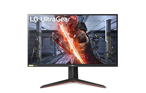 LG Electronics 27GN850 27 Inch Gaming Monitor (2560 x 1440) Nano IPS 1ms GtG, 144Hz, HDR10, G-SYNC Compatible, Black