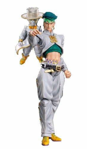 Super Figure Action [JoJo`s Bizarre Adventure] Part IV 29.Kishibe Rohan & Heavens Door Hirohiko Araki Specify Color PVC Figure