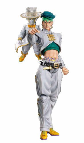 Super Figure Action [JoJo`s Bizarre Adventure] Part IV 29.Kishibe Rohan & Heavens Door Hirohiko Araki Specify Color PVC Figure