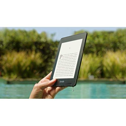 Kindle Paperwhite, resistente all'acqua, schermo ad alta risoluzione da 6