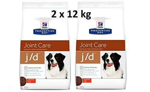 Hills Prescription Diet j/d 2 x 12 kg Joint Care Hundefutter mit Huhn