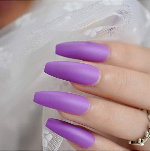 Valse nagels, nep nagels, natuurlijke parel elegante touch Franse manicure, gele druk op valse nagels, extra lange ballerina vorm uv gel lijm vingers nagels 4