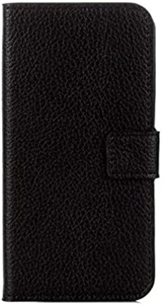 Samsung Galaxy J5 Prime Painted Pattern PU Leather Case Cover Card Slot Wallet Stand Holder -Black