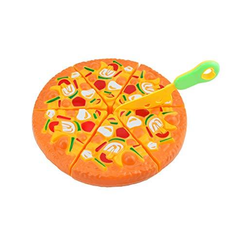 ETbotu doen alsof spelen speelgoed, peuter speelgoed,4 jaar oud meisje geschenken,Simulatie Pizza Play House Educatief Speelgoed voor kinderen Simulatie Mes Willekeurige Kleur