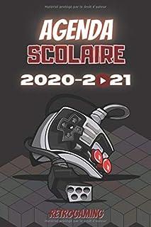 AGENDA SCOLAIRE 2020-2021 RETROGAMING: Agenda Rétro école primaire collège lycée..