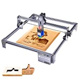 SCULPFUN S6 Pro 60W Laser Engraver Machine,5.5W Laser Power,0.15mm Laser Focus,Eye Protection,15mm Wood Cutting,410x420mm Engraving Area for Metal Wood Leather Tile Acrylic