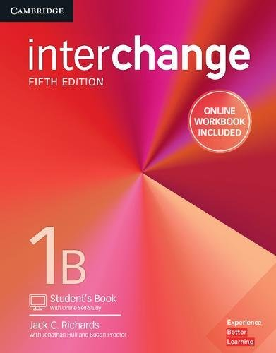 Interchange 1B - Student´s Book With Online Self-Study and Online Workbook - 05 Edition