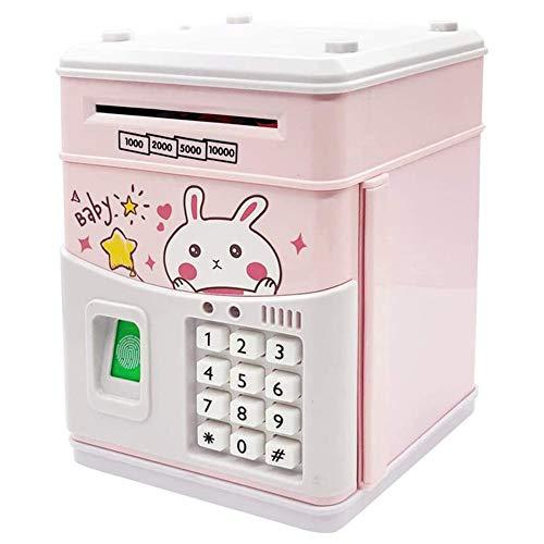 Huante Hucha electrónica, Hucha de monedas para niños con código, Hucha electrónica para niños, Banco seguro para niños