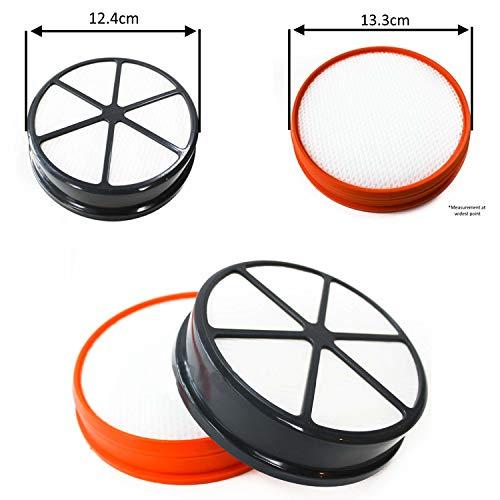 bartyspares Pre y Post Motor Kit de filtro de tipo de 90para Vax Zoom Alcance Energise Pulse & Impacto mascota serie aspiradora Hoover