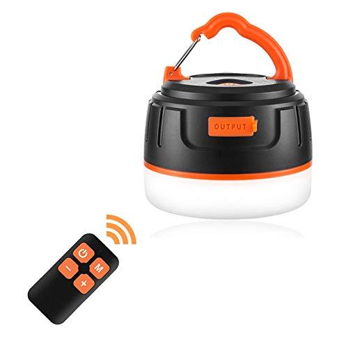 LEDランタン 暖色 電球色 USB充電式 IP65 防水&防塵 5つ調光モード マグネット式 アウトドア&防災用品 【210ルーメン/連続点灯50時間】