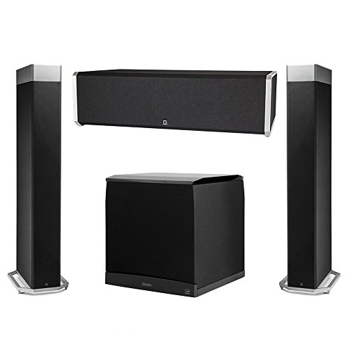 Review Definitive Technology 3.1 System with 2 BP9080X Tower Speakers, 1 CS9040 Center Channel Speaker, 1 Definitive Technology SuperCube 8000 Powered Subwoofer