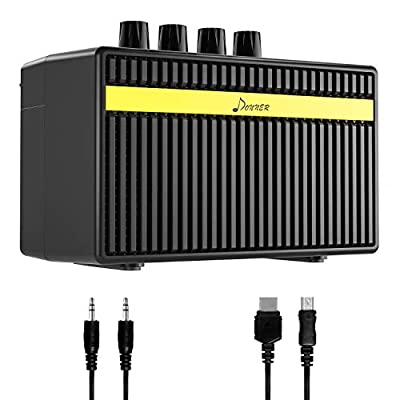 Donner Electric Guitar Amplifier 3 Watt Classical Mini Guitar AMP DEA-1