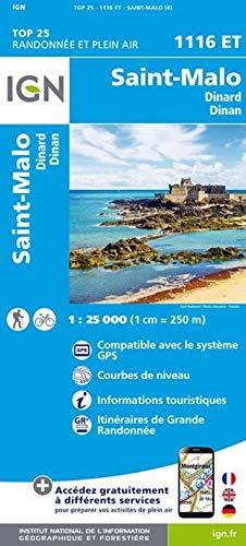 Saint-Malo / Dinard.Dinan 1 : 25 000
