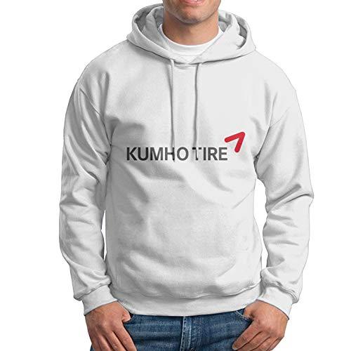 Ku-Mho Reifen Logo Männer Pullover Sweatshirt Loose Hoodie