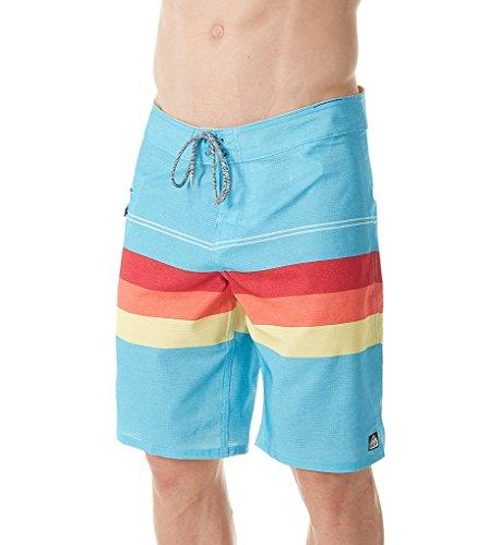 Reef_Apparel Herren Reef Peeler Shorts, Türkis (Turquoise Tur), Small (Herstellergröße: 30)