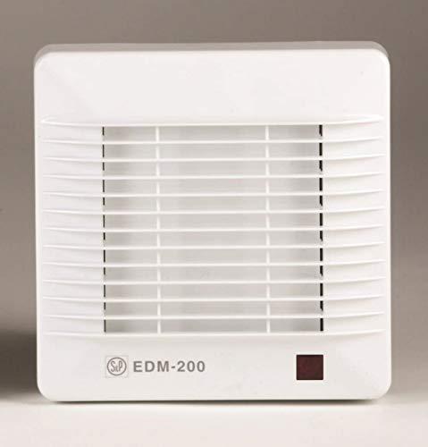 S & p edm-200 - Extractor bano/aseo edm-200c 25w 2500rpm