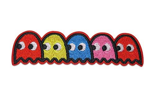 Finally Home Pacman figuren patches om op te strijken | patch, strijkpatch, patches, patch