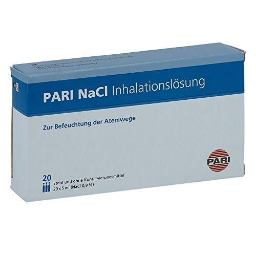 PARI NaCl Inhalationslösung Ampullen 20X5 ml