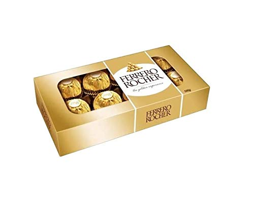 Bombom Ferrero Rocher C/8 Unidades 100g