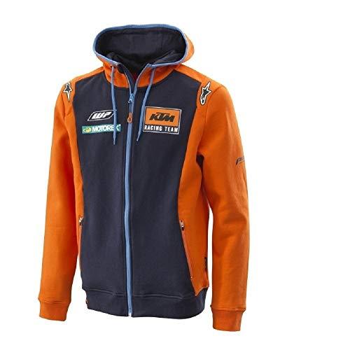 Original KTM Replica Team Zip Hoodie Herren Pullover Gr. XL
